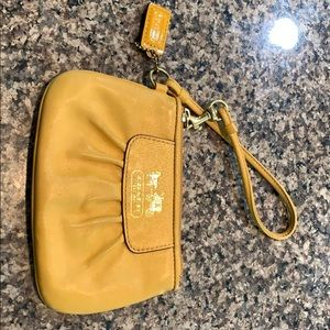 Small coach coin purse